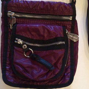 Nine West Crossbody Handbag, Merlot Grape colour